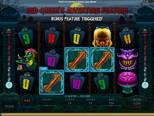 Φρουτακια: Alaxe In Zombieland Red Queens Adventure Feature