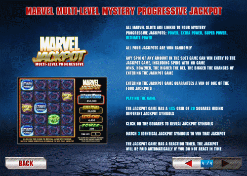 Φρουτακια Iron Man 2 Marvel Jackpot